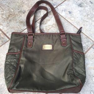 Harve Benard quilted tote bag